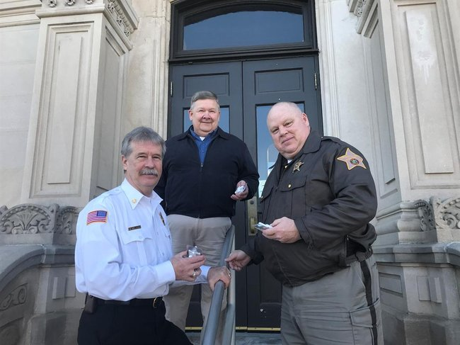 Kosciusko County Ind Fort Wayne S Nbc The Sheriff Department Received A Grant From Indiana Of Health To Help Battle